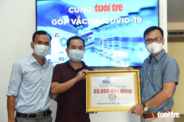 Góp tiền, góp khẩu trang để phòng dịch COVID-19 - Ảnh 1.