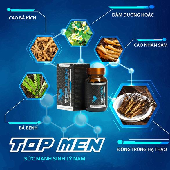 Top Men - thực phẩm bảo vệ sức khỏe nam giới - Ảnh 1.