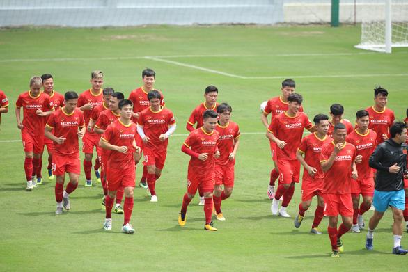 Chuẩn bị vòng loại thứ 2 World Cup 2022: Đội tuyển Việt Nam hành xác - Ảnh 1.