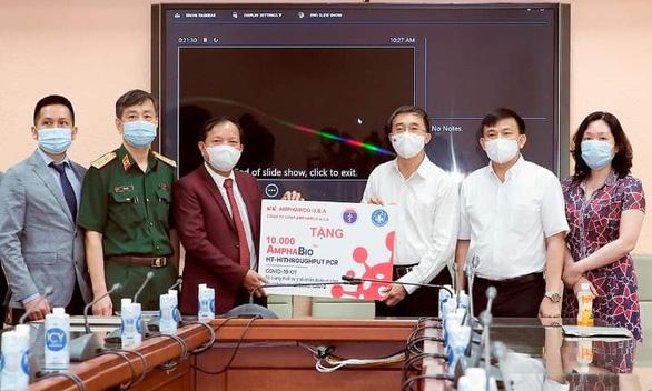 Bộ kit made in Việt Nam xét nghiệm được hầu hết các biến chủng - Ảnh 1.