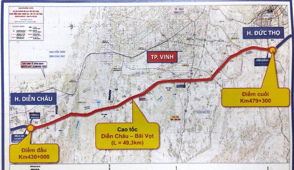 Dự kiến cuối tháng 5, đầu tháng 6 khởi công đoạn cao tốc Diễn Châu - Bãi Vọt - Ảnh 1.