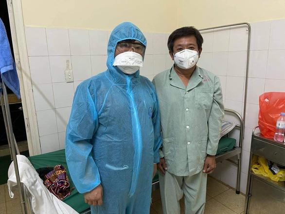 Ông Đoàn Ngọc Hải âm tính lần 1 với COVID-19, bị cảm cúm thông thường - Ảnh 2.