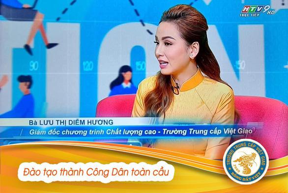 Phụ huynh mạnh dạn cho con em học Trung cấp Việt Giao - Ảnh 3.