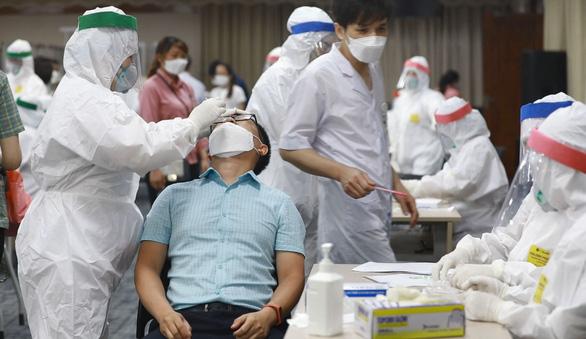 Bắc Ninh thêm 25 ca COVID-19 mới, xét nghiệm ngẫu nhiên công nhân ở khu công nghiệp - Ảnh 1.