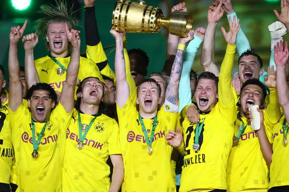 Thắng áp đảo Leipzig, Dortmund vô địch Cúp quốc gia Đức - Ảnh 1.