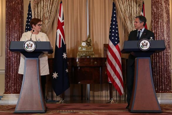 Mỹ hứa không để Úc một mình khi bị Trung Quốc bắt nạt - Ảnh 1.