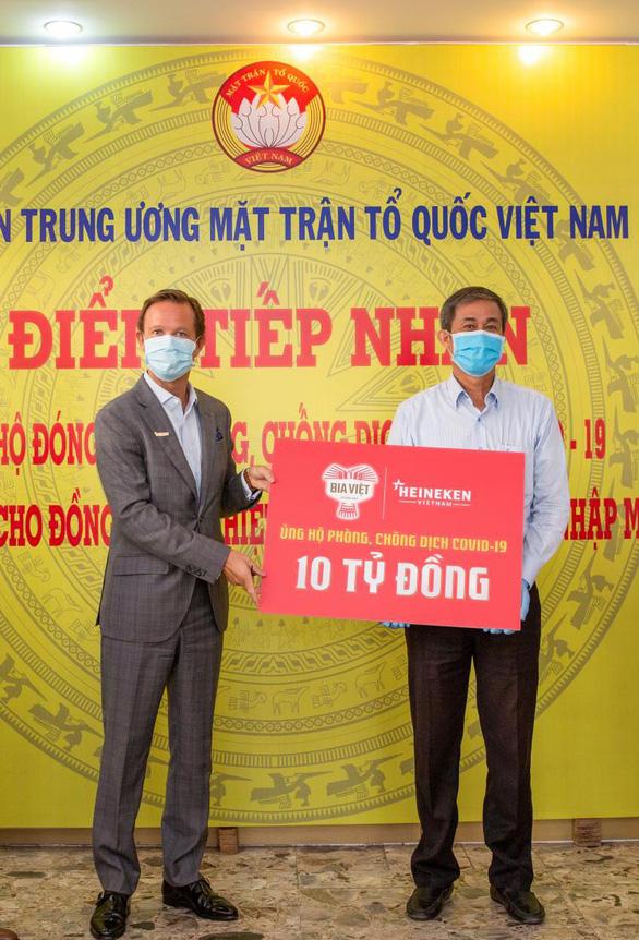 Bia Việt và hành trình 1 năm sát cánh cùng Việt Nam - Ảnh 1.
