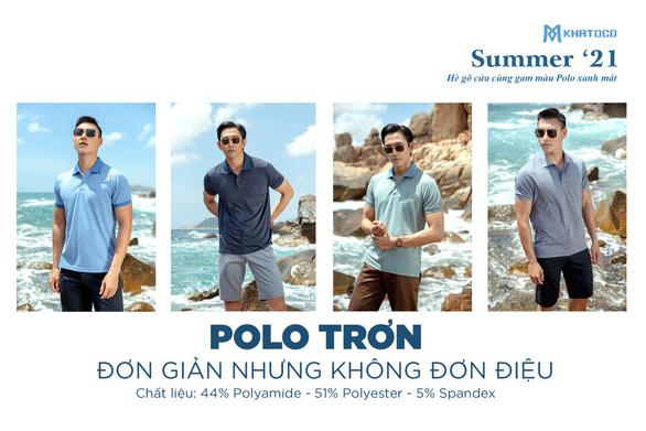 Polo Khatoco - Những sắc màu mùa hè - Ảnh 2.