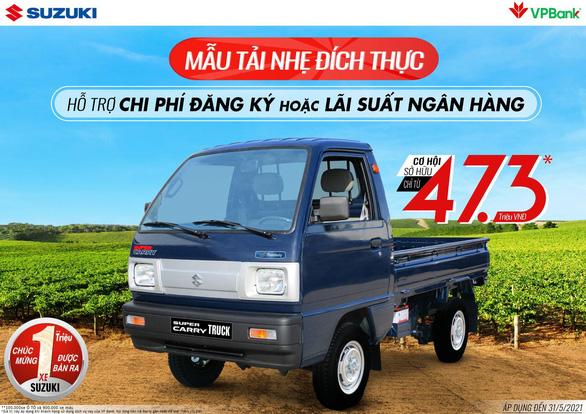Suzuki khuyến mãi hấp dẫn mừng hơn 1 triệu xe lăn bánh tại Việt Nam - Ảnh 2.