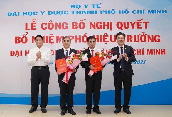 Bộ Y tế yêu cầu ĐH Y dược TP.HCM thu hồi quyết định bổ nhiệm 2 hiệu phó - Ảnh 1.