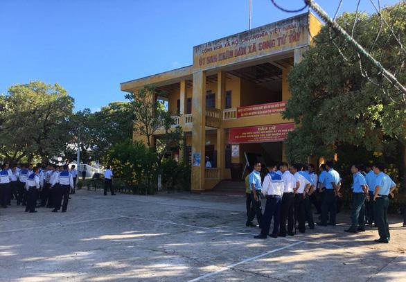 Không khí bầu cử đã rộn ràng ở Trường Sa - Ảnh 1.