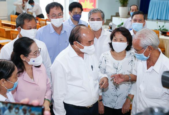 Chủ tịch nước Nguyễn Xuân Phúc: Giao thông kết nối mạnh thì Củ Chi, Hóc Môn là đất vàng - Ảnh 3.
