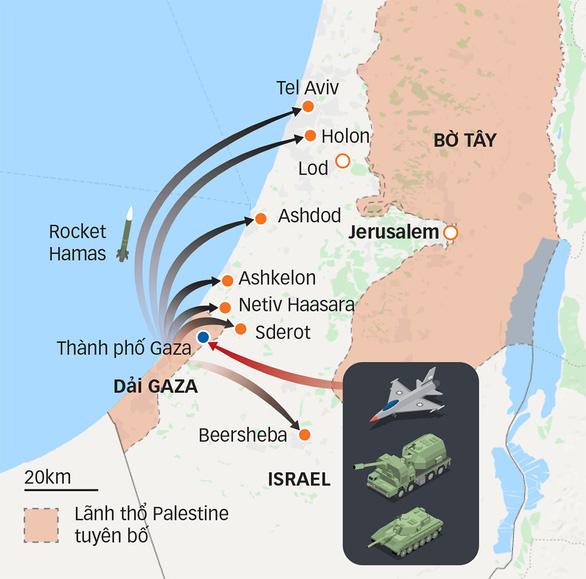 Israel - Palestine bên miệng hố chiến tranh - Ảnh 2.