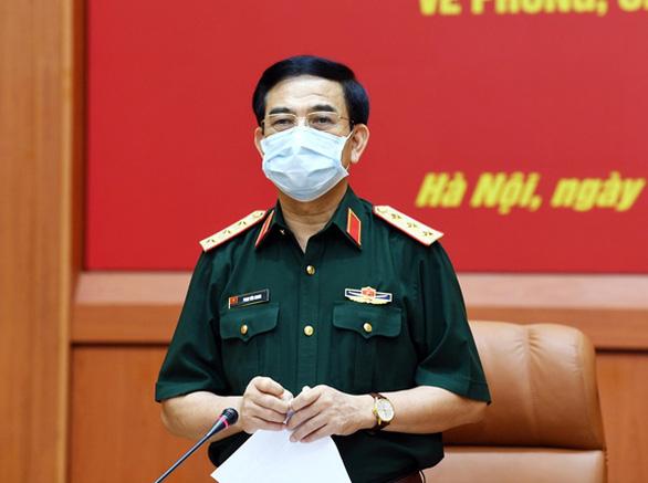 Bộ Quốc phòng điều thêm lực lượng lên hỗ trợ Bắc Ninh, Bắc Giang chống dịch - Ảnh 1.