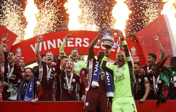 Đá bại Chelsea, Leicester lần đầu trong lịch sử đoạt Cúp FA - Ảnh 4.