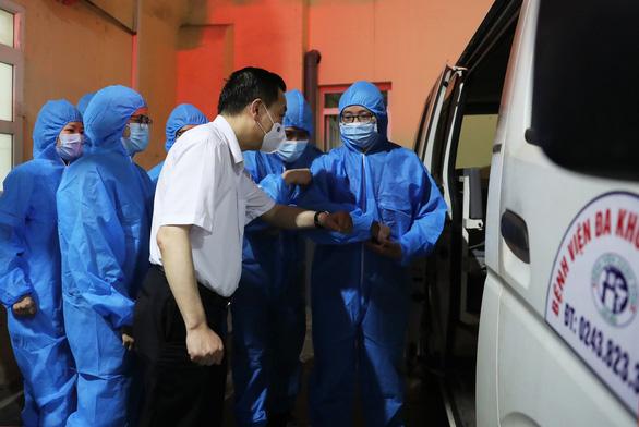 Hà Nội cử đội đặc nhiệm hỗ trợ Bắc Giang dập dịch COVID-19 - Ảnh 5.