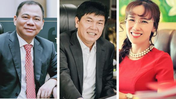 3 tỉ phú giàu nhất Việt Nam đang làm ăn ra sao? - Ảnh 1.