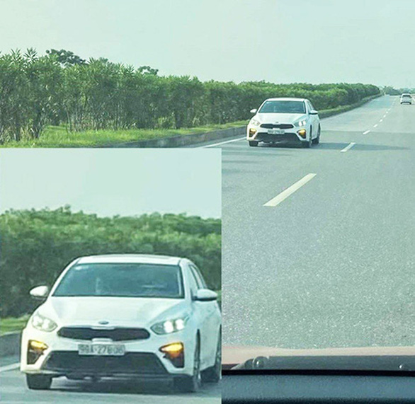 Không bằng lái, chạy ngược chiều trên cao tốc, bị phạt 24,5 triệu đồng - Ảnh 1.