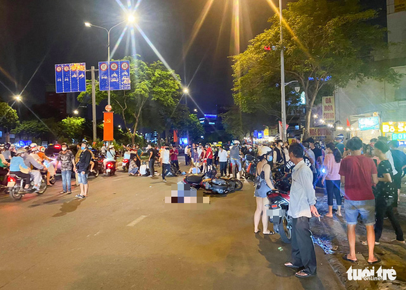 Nghi phạm cướp giật rồi tử vong trên đường Điện Biên Phủ mới mãn hạn tù - Ảnh 1.