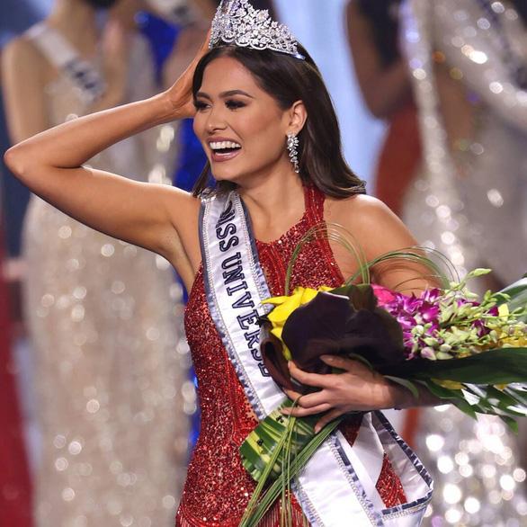 Đại diện Mexico Andrea Meza trở thành Hoa hậu Hoàn vũ thế giới - Miss Universe lần thứ 69 - Ảnh 1.