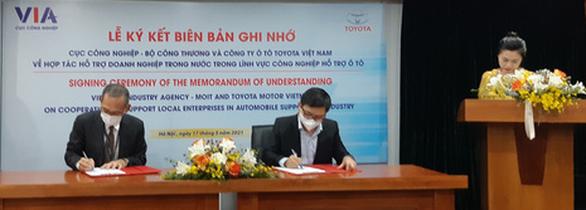 Toyota hỗ trợ doanh nghiệp Việt Nam làm linh kiện ô tô - Ảnh 1.
