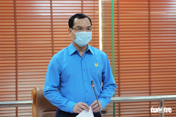 Tổng LĐLĐ Việt Nam dành 1,5 tỉ đồng hỗ trợ công nhân bị ảnh hưởng COVID-19 - Ảnh 1.