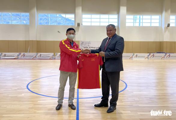 Tuyển futsal Việt Nam hạ Iraq 2-1 - Ảnh 1.