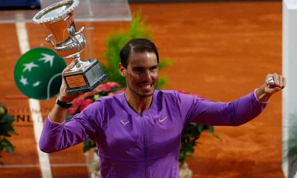 Đánh bại Djokovic, Nadal đoạt chức vô địch Rome Masters - Ảnh 2.