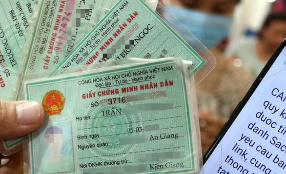 Gần 10.000 CMND, CCCD người Việt bị rao bán trên mạng: Bộ Công an lên tiếng - Ảnh 1.