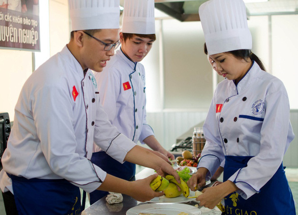 Điều cần biết khi học nghề bếp ở hướng nghiệp Việt Giao - Ảnh 2.