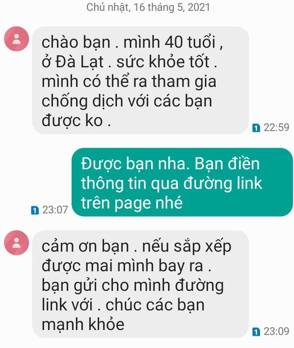 Từ Gia Lai, Đà Lạt... tình nguyện xin đi chống dịch ở Bắc Giang - Ảnh 2.