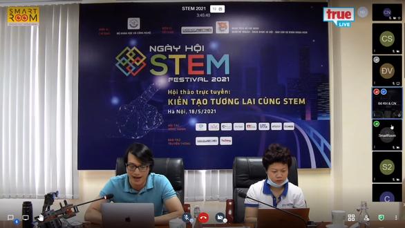 Lần đầu tiên tổ chức trực tuyến Ngày Khoa học công nghệ Việt Nam - Ảnh 1.