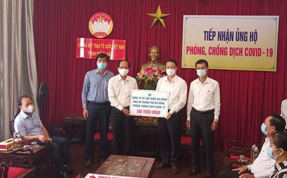 Dawaco, DMT ủng hộ Đà Nẵng 1 tỷ đồng phòng chống dịch COVID-19 - Ảnh 1.
