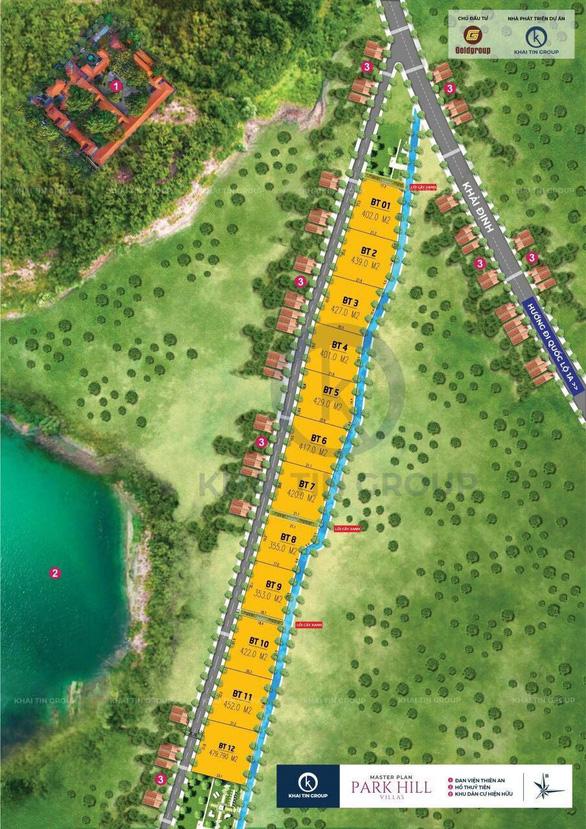 Dự án 12 biệt thự nghỉ dưỡng Park Hill là dự án ma - Ảnh 1.