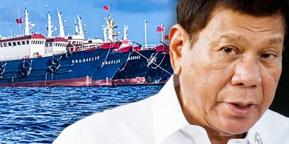 Ông Duterte cấm nội các thảo luận công khai về Biển Đông - Ảnh 1.