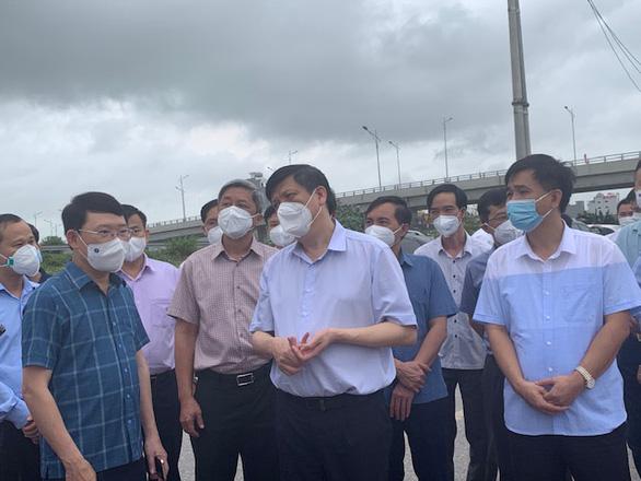 Bộ Y tế lập Bộ phận thường trực chống dịch tại Bắc Giang, Bắc Ninh - Ảnh 1.