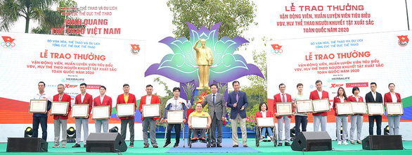 Herbalife Việt Nam đồng hành cùng Tổng Cục Thể Dục Thể Thao Vinh danh VĐV, HLV tiêu biểu 2020 - Ảnh 1.