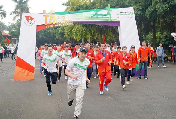 Herbalife Việt Nam đồng hành cùng Tổng Cục Thể Dục Thể Thao Vinh danh VĐV, HLV tiêu biểu 2020 - Ảnh 3.