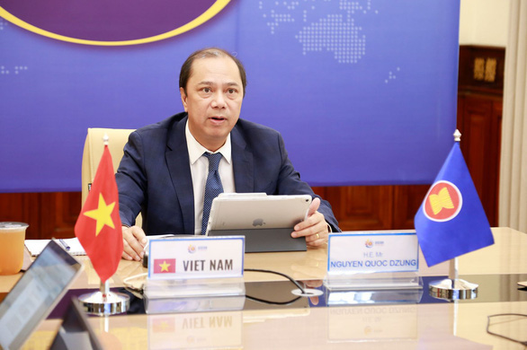 Việt Nam dự họp Tham vấn quan chức cao cấp ASEAN - Trung Quốc lần thứ 27 - Ảnh 1.