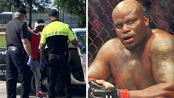 Trộm xe của cao thủ MMA, tên cướp bị đánh bầm mình trước khi cảnh sát đến - Ảnh 1.