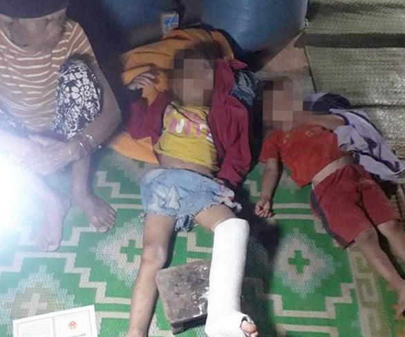 Cục Trẻ em chỉ đạo khẩn vụ 4 trẻ thương vong do sập tường lò gạch - Ảnh 1.