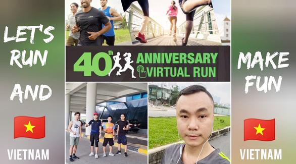 Nhân viên Herbalife Việt Nam tham gia chạy trực tuyến - Ảnh 2.