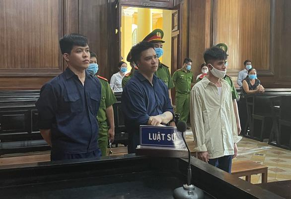 Tuyên tử hình cả 3 bị cáo trong đường dây ma túy tại TP.HCM - Ảnh 1.