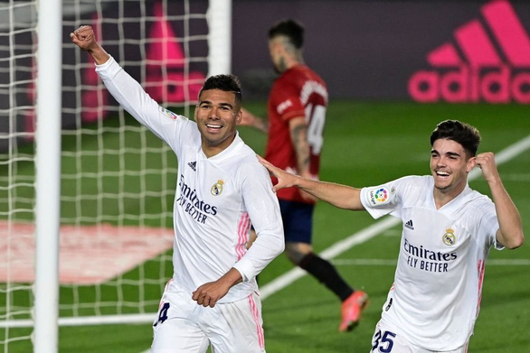 Real Madrid bám sát Atletico Madrid trong cuộc đua vô địch - Ảnh 2.