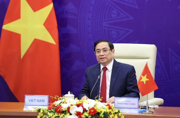 Thủ tướng Phạm Minh Chính đề cập Biển Đông, COVID-19 tại hội nghị 'Tương lai châu Á - Ảnh 1.