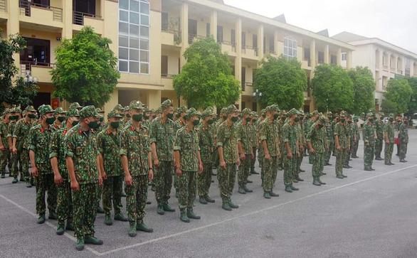 150 cán bộ, chiến sĩ được tăng cường cho tuyến biên giới Cao Bằng - Ảnh 1.