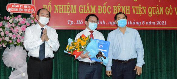 Bệnh viện Gò Vấp có giám đốc mới sau khi giám đốc cũ mất chức vì gom khẩu trang - Ảnh 1.