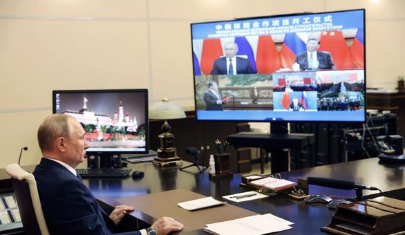 Ông Tập Cận Bình nói điện hạt nhân là ưu tiên chiến lược và muốn hợp tác với Nga - Ảnh 1.