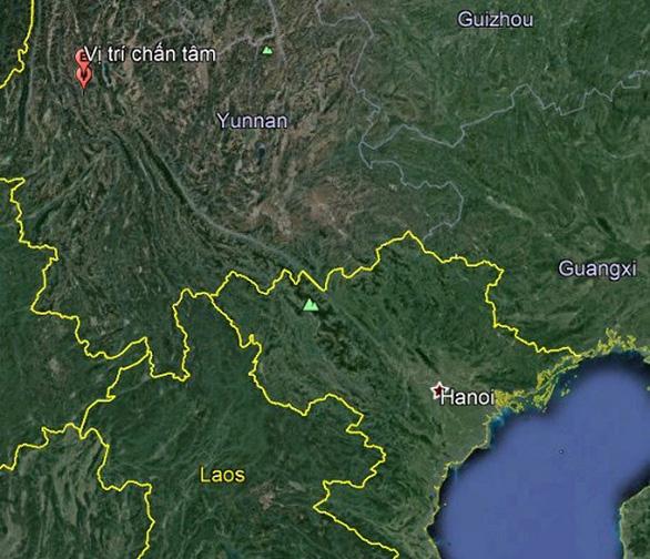 Động đất mạnh 5,8 độ Richter ở Trung Quốc, Hà Nội rung lắc - Ảnh 1.