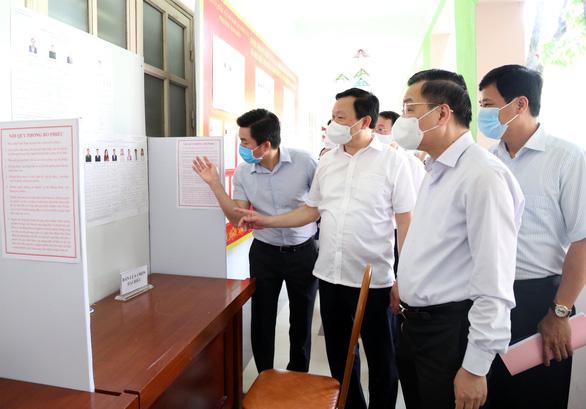 Chủ tịch Hà Nội: Trách nhiệm cao nhất, phòng COVID-19 từng khâu ở khu vực bầu cử - Ảnh 1.
